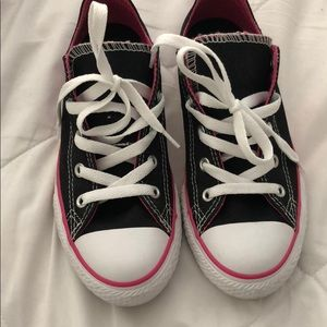 Worn Once! Girl Converse.